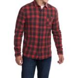 Free Nature Vintage-Washed Flannel Shirt - Long Sleeve (For Men)