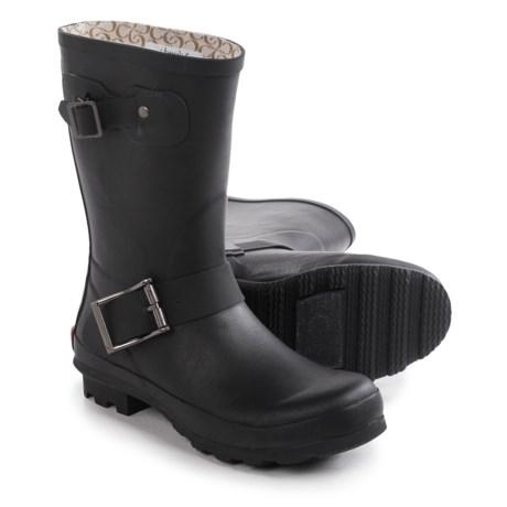 Chooka Classic Mid Cafe Racer Rain Boots - Waterproof (For Women)