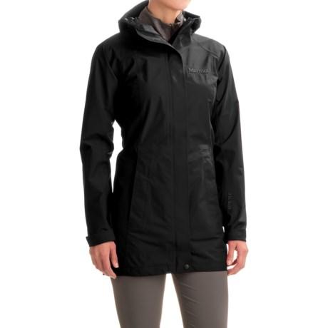 Marmot Optima LX Long Gore-Tex® PacLite® Rain Coat - Waterproof (For Women)