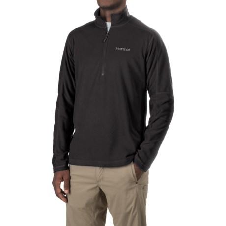 Marmot Buxton Fleece Shirt - Zip Neck, Long Sleeve (For Men)