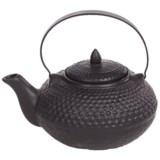 BIA Cordon Bleu Hobnail Ceramic Teapot with Infuser Basket - 28 fl.oz.
