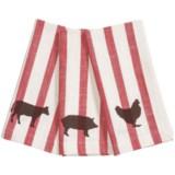 Tag Striped Farm to Table Cloth Napkins - Set of 3