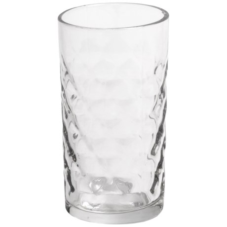 Tag Faceted Tumbler - Glass
