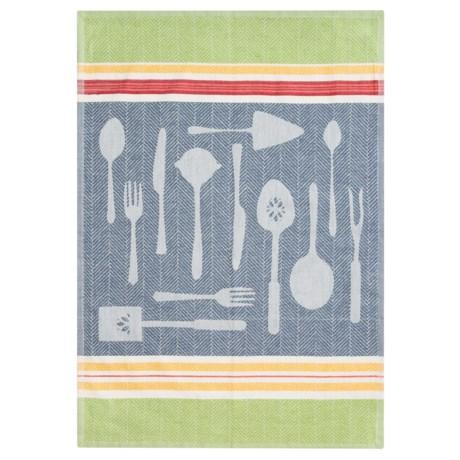 Tag Cotton Jacquard Kitchen Dish Towel