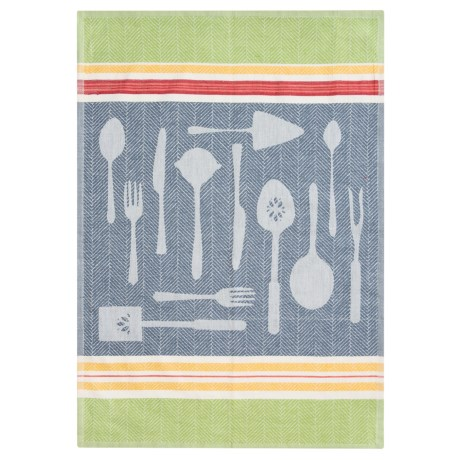 Tag Cotton Jacquard Kitchen Dish Towel
