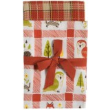 Tag Fall Cotton Dish Towels - 2-Pack