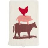 Tag Farm Animal Friends Flour Sack Dish Towel