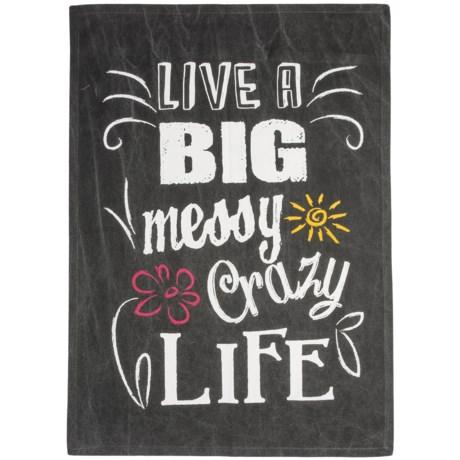 Tag Big Crazy Life Dish Towel