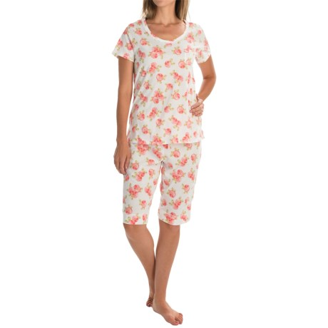 Carole Hochman Bermuda Pajamas - Short Sleeve (For Women)