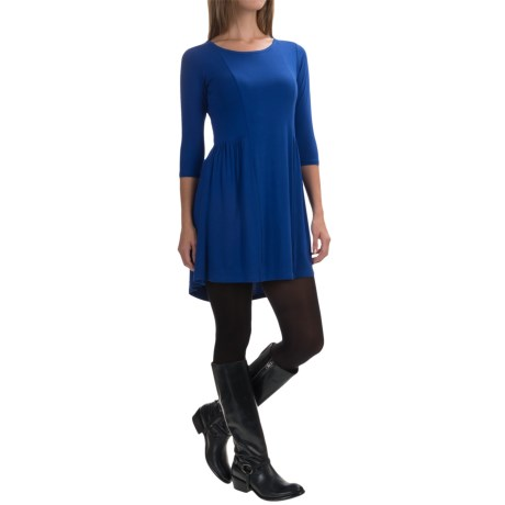 Yala Reese Dress - Scoop Neck, 3/4 Sleeve (For Women)