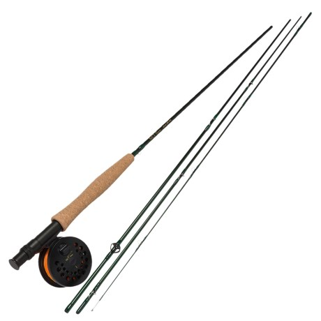 Temple Fork Outfitters NXT Series Fly Rod and Reel Combo - Spooled Line