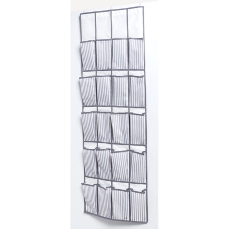 neatfreak! 20-Pocket Over-the-Door Organizer - Ticking Stripe