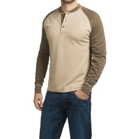 1816 by Remington Working Man's Henley Shirt - Long Sleeve (For Men)