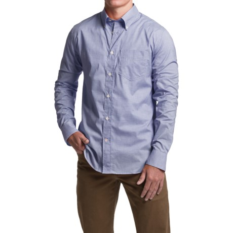 1816 by Remington Montford Mini Check Shirt - Long Sleeve (For Men)