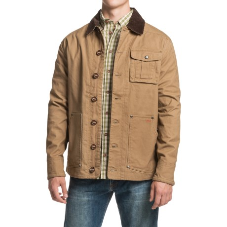 1816 by Remington Cotton Canvas Barn Jacket (For Men)