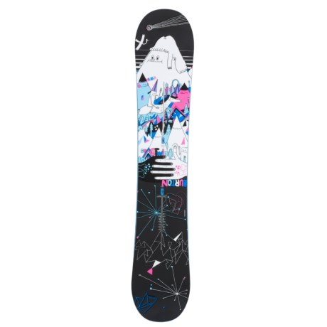Burton GTwin Snowboard - Freestyle (For Women)