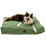 Harry Barker Classic Solid Rectangle Dog Bed - Medium, 36x29""