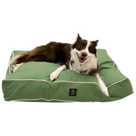 """Harry Barker Classic Solid Rectangle Dog Bed - Medium, 36x29"""""""