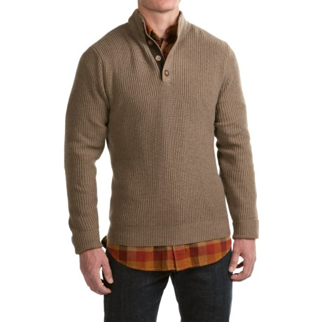 1816 by Remington Buck Sweater - Merino Wool-Cotton (For Men)