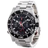 Bulova Precisionist Chronograph Quartz Rotating Bezel Watch - Stainless Steel Bracelet (For Men)