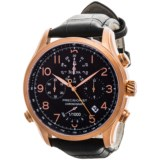 Bulova Precisionist Quartz Watch - Leather Strap (For Men)