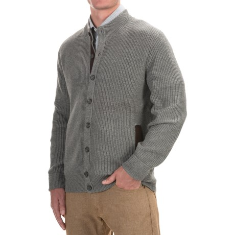 1816 by Remington Canyon Cardigan Sweater - Merino Wool-Cotton (For Men)