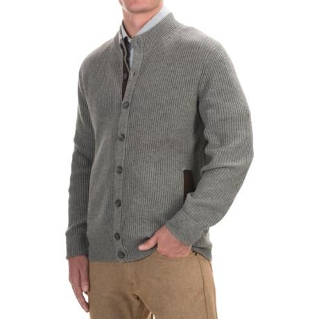 1816 by Remington Canyon Cardigan Sweater - Merino Wool-Cotton (For Men)