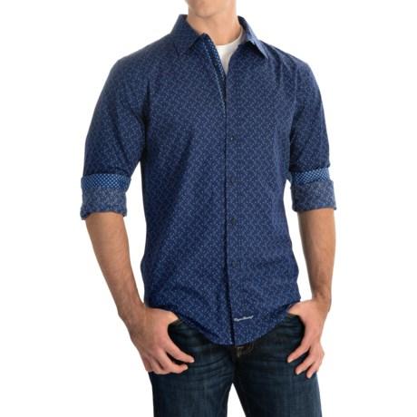 English Laundry Paisley Print Sport Shirt - Long Sleeve (For Men)