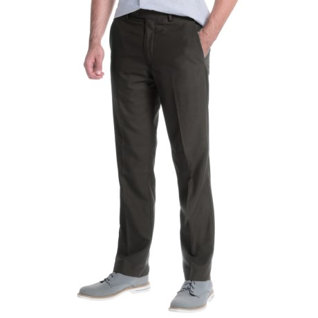 Greg Norman Luxe Flat-Front Pants (For Men)