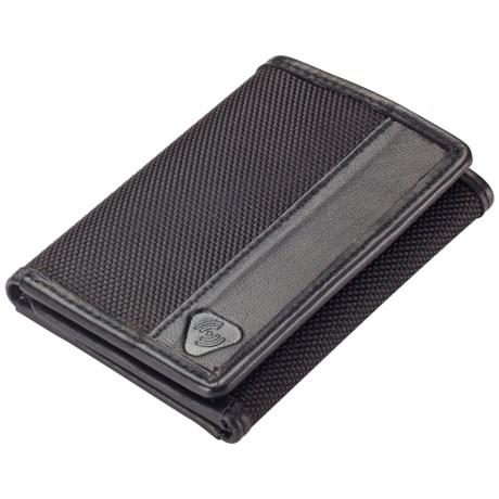 Lewis N Clark Lewis N. Clark RFID-Blocking Tri-Fold Wallet - Ballistic Nylon