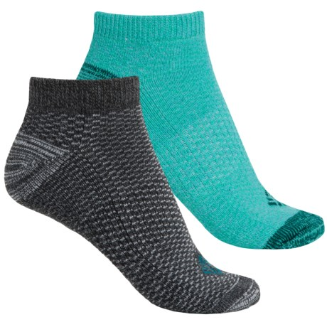 Columbia Sportswear Dash Stripe No-Show Socks - 2-Pack, Below the Ankle (For Women)