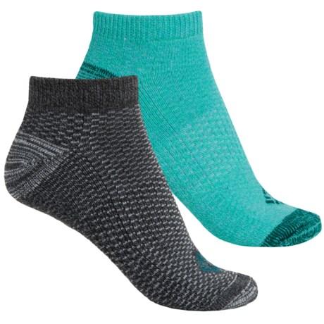 Columbia Sportswear Dash Stripe No-Show Socks - 2-Pack, Below the Ankle (For Women)
