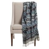 "Melange Home Mojave Throw Blanket - 50x70"", Cotton-Wool"