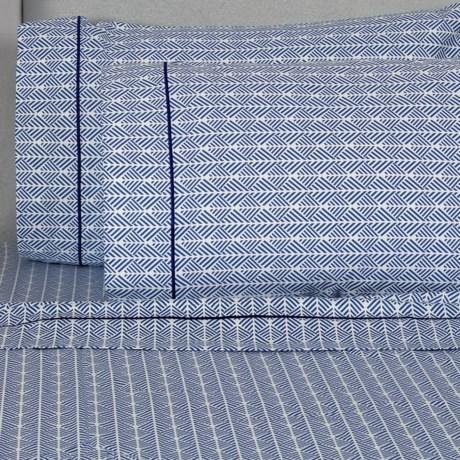 Melange Home Printed Sheet Set - Queen, 400 TC Cotton