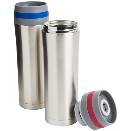 Chantal Stainless Steel Travel Mugs - 2-Pack