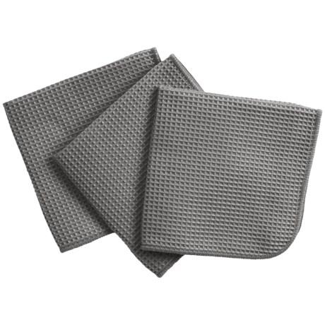 MUkitchen Microfiber Waffle Kitchen Dishcloth - Set of 3