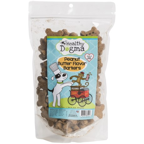 Healthy Dogma Peanut Butter Dog Treats - 16 oz.
