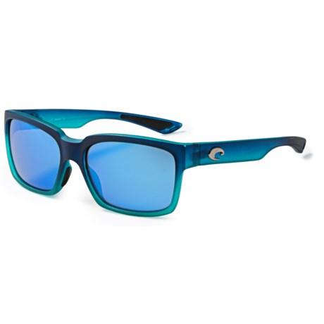 Costa Playa Sunglasses - Polarized 400G Glass Mirror Lenses