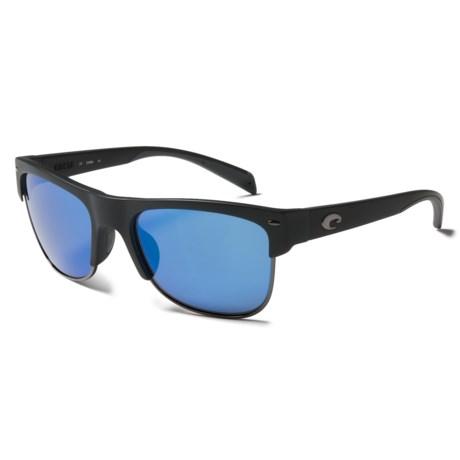 Costa Pawleys Sunglasses - Polarized 400G Glass Mirror Lenses