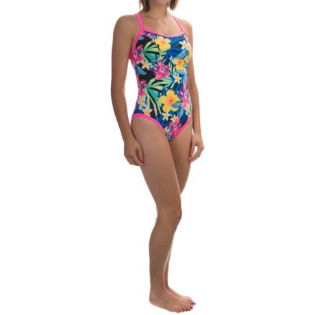 TYR Amazonia Reversible Diamondfit Swimsuit - UPF 50+ (For Women)
