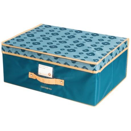 "Samsonite Flip-Top Collapsible Storage Box - 19.5x14.5x8"""