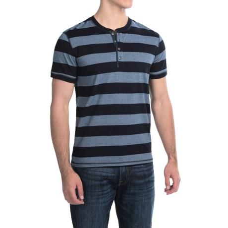 Lucky Brand Henley Shirt - Short Sleeve (For Men)