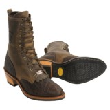 Chippewa Packer Western Boots - Elephant Leather (For Men)