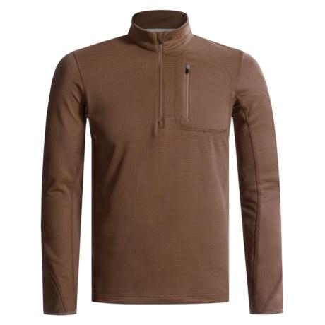 Craft Lightweight Fleece Pullover Shirt - Long Sleeve, Zip Neck (For Men)