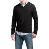 C89men Lightweight Merino Wool Sweater - V-Neck (For Men)