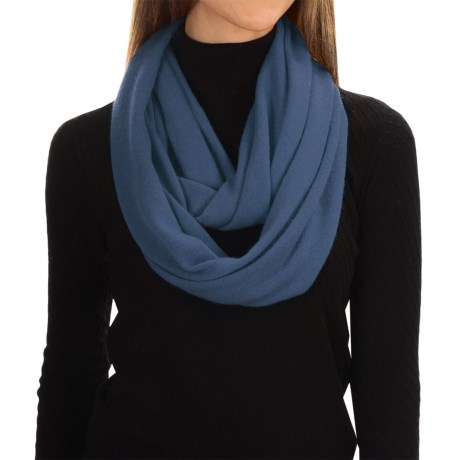 Alicia Adams Alpaca Infinity Scarf - Baby Alpaca (For Men and Women)