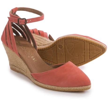 Eric Michael Vera Wedge Sandals - Suede (For Women)