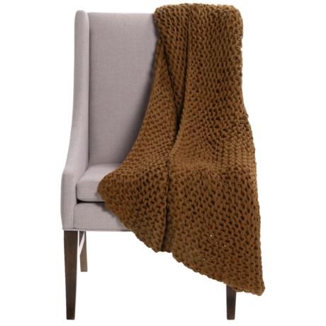 "Alicia Adams Alpaca Baby Alpaca Links Throw Blanket - 51x71"""