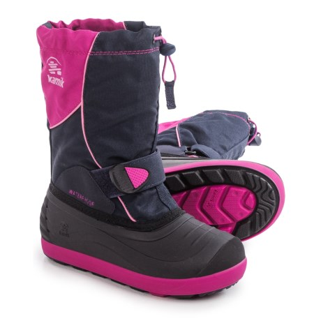 Kamik Jetsetter Pac Boots - Insulated (For Little and Big Kids)
