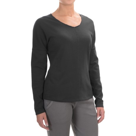 Yummie by Heather Thomson French Terry Shirt - Long Sleeve (For Women)